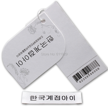 Customized garment labels clothing labels / /Trademark manufacture woven labels/clothing hangtag