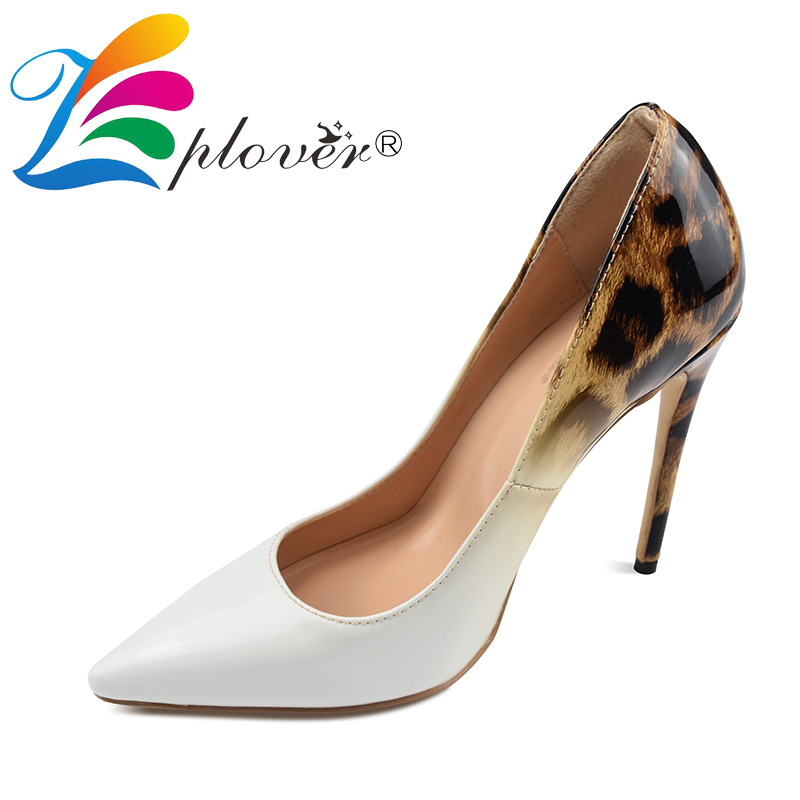 2019 New Women Pumps Shoes High Heels Shoes Woman Chaussures Femme Super Thin Heels Ladies Shoes Women Pointed Toe Pumps Mujer in Women 39 s Pumps from Shoes