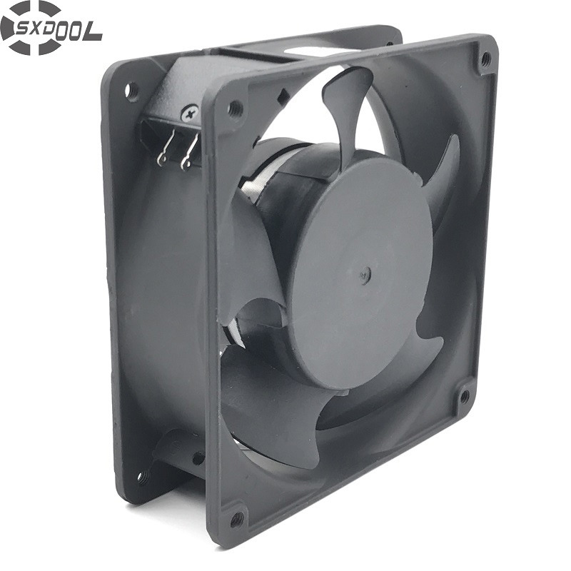 цены на SXDOOL SJ1238HA2 120mm 12038 120*120*38 mm 220-240V AC 0.13A axial industrial Cooling Fan 220V metal frame в интернет-магазинах