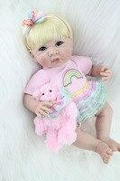 35cm Silicone Reborn Baby Doll Toys Lifelike