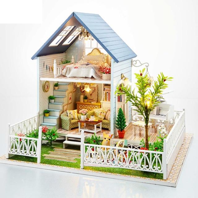 Shipping Furniture Model Alluring Aliexpress  Buy Free Shipping Assembling Diy Miniature Model . Inspiration Design