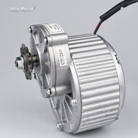 KUNRAY MY1018 450W 24V 36V Brushed Gear DC Motor For Electric Bike Engine Ebike Rear Wheel
