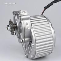 KUNRAY MY1018 450W 24V 36V Brushed Gear DC Motor For Electric Bike Engine Ebike Rear Wheel