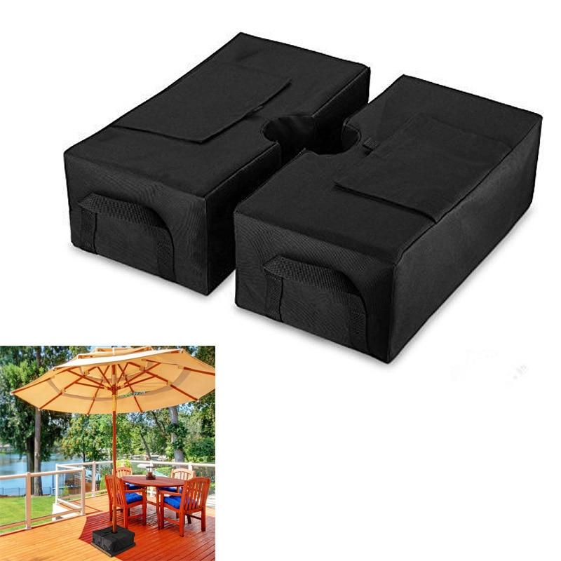 2Pcs Detachable Umbrella Base Cantilever Outdoor Patio Umbrella Stand Accessories ...