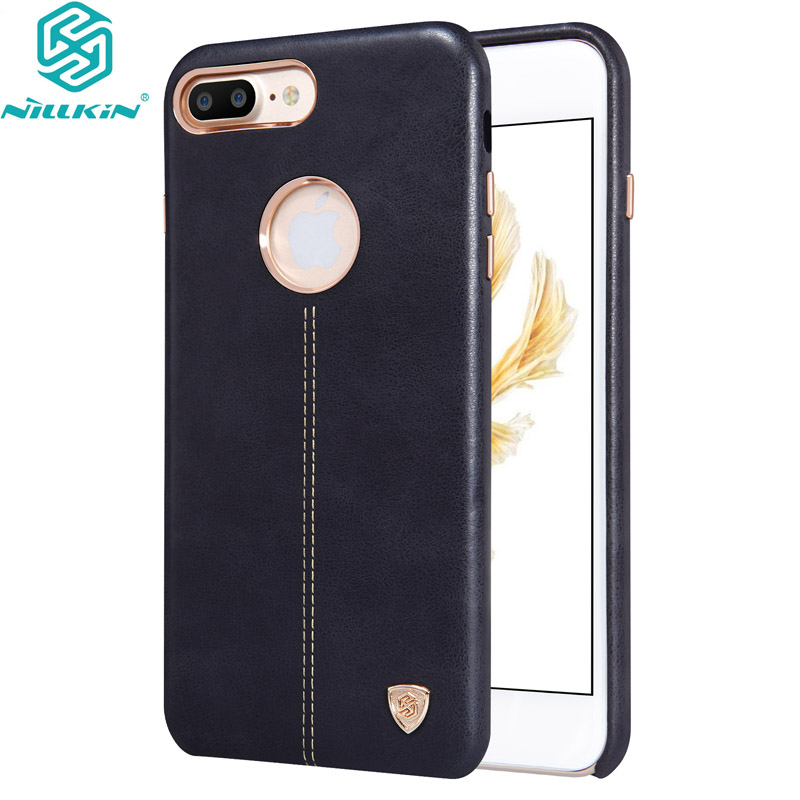 Brand Vintage PU Leather cover for iPhone 7 Plus Case 5 5inch Nillkin Englon Series for