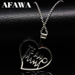 Mama family stainless steel necklaces for women silver color chain choker necklace mother gift jewelry acero.jpg 250x250