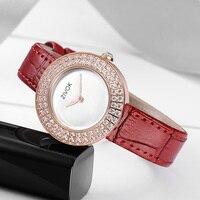 Роскошные для женщин часы с пояса из натуральной кожи ремень zivok ультра тонкий алмаз красивые кварцевые часы Zegarek Damski Reloj Mujer