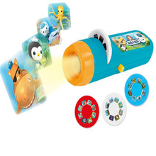 1 Set Funny Arrival Hot Sale Baby Sleeping Story Submarine Projector Flashlight Star Toy Christmas Gifts