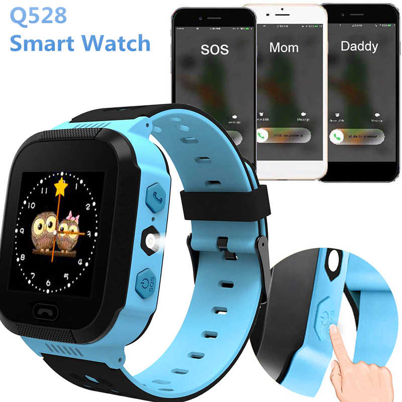 Timethinker Q528 Smart Watch Child Kids Watches With Camera SOS Call SIM Card AGPS Location Tracker Child Safe PK Q90 Q60 Q50