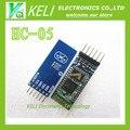 O envio gratuito de 1 PÇS/LOTE HC05 HC-05 master-slave 6pin JY-MCU anti-reverso, módulo pass-through serial Bluetooth integrado