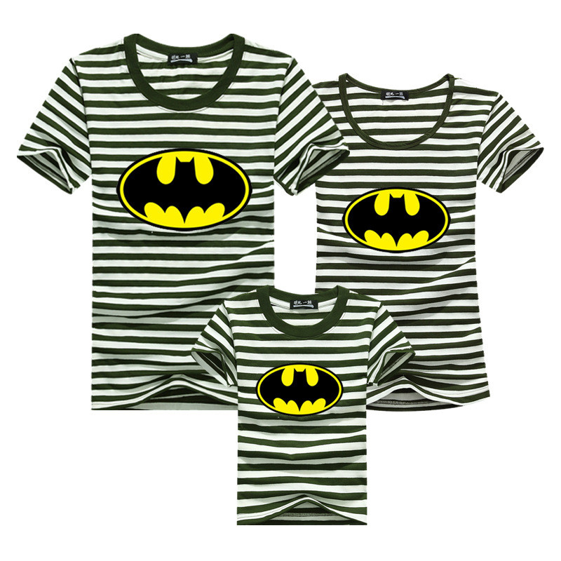 Kind-Hearted Family Matching Outfits Clothes Mommy And Baby Set Mother And Daughter Clothes Family Pyjamas Batman Superman Girl Sweatshirt Mother & Kids
