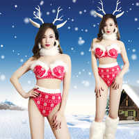 Christmas Ds Costumes New Nightclub Sexy Gogo Clothing Female Nightclub Singer Party Celebrate Dance Christmas Clothes DL3300