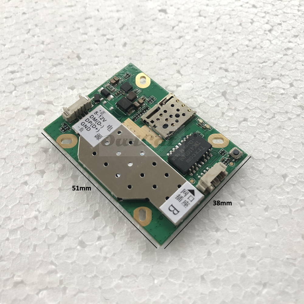 Image 3 - 3G 4G SIM Camera Module Mainboard Repair Parts Replacement 4G Signal PCB Motherboard ZTE ALK_AF760_V6.1-in CCTV Camera Housings from Security & Protection