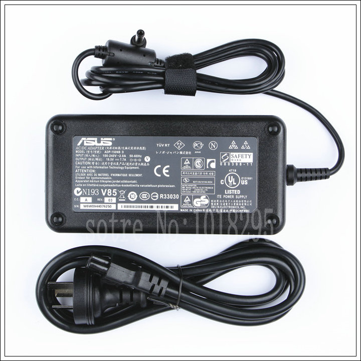 OEM 19.5V 7.7A 150W AC Power Adapter Charger For ASUS G74SX G74SX-DH71 G74SX-DH72 Series ADP-150NB D