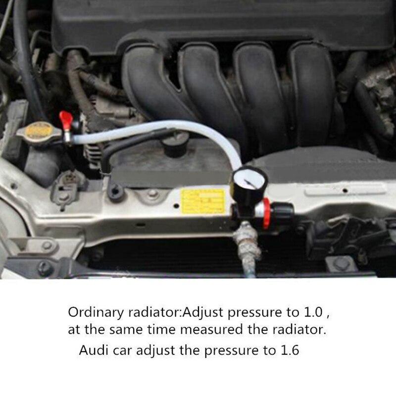 Ferramenta verificador de pressão vazamento do carro tanque água do radiador refrigeração detector conjunto kit sistema universal quente novo 2018