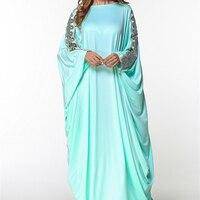 2018 г. Топ Мода Vestidos De Fiesta Абаи модный бренд мусульманское платье кафтан мягкая плюс Размеры халат Платья для женщин кимоно Прямая поставка