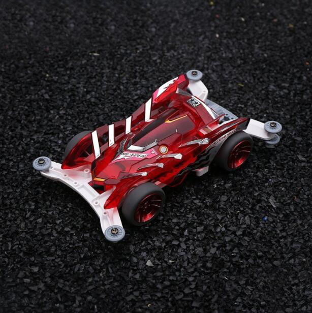 1/32 échelle Tamiya Mini 4WD voiture de course modèle 95009 avec châssis AR boîtier Transparent rouge