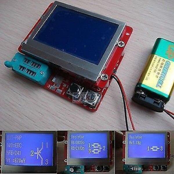 Large-screen display12864 LCD Transistor Tester Diode Triode Inductor Capacitance ESR Meter LCR METER TEST MOS/PNP/NPN  цены