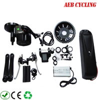 Free shipping and taxes to EU USA Bafang 48V 1000W BBSHD mid crank motor kits+48V 11.6Ah Hailong shark down tube battery pack