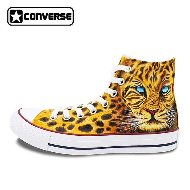 converse leopardo niña