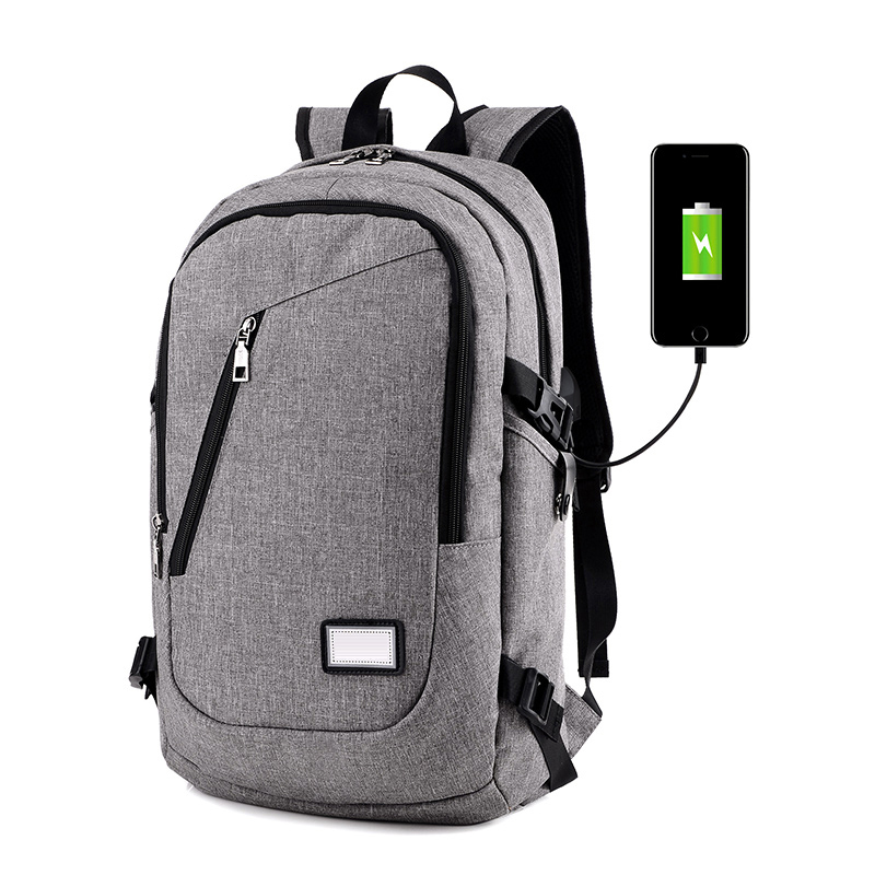 2019 New Teen Usb Backpack Men's Big Capacity Casual Travel Notebook Backpack School Bags For Women