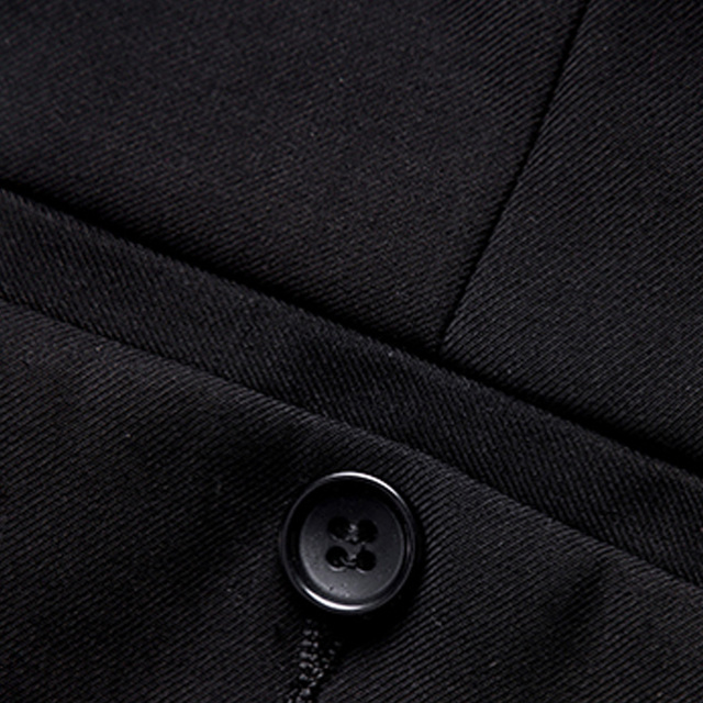 (Jacket+Pant+Tie) Luxury Men Wedding Suit Male Blazers Slim Fit Suits For Men Costume Business Formal Party Blue Classic Black 5