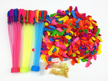Water Balloons Refill Kit -3 sets Straws+500 Balloons+500 Rubber Bands+3 Tool Amazing Magic Water Balloon Bombs Toys