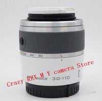 For Nikon 1 30 110mm Zoom lens V1 V2 V3 J1 J2 J3 J4 J5 30 110 VR 30 110mm f/3.8 5.6 mirrorless camera lens (Second hand)