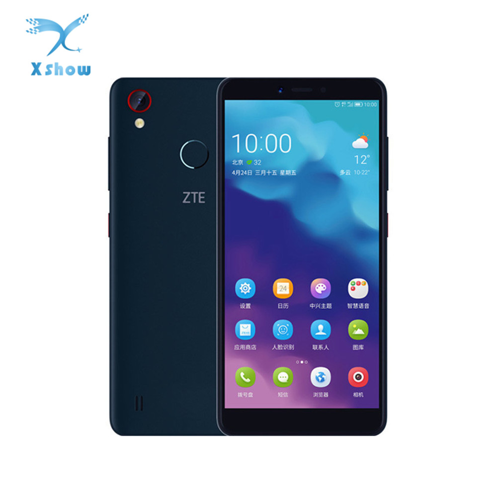 Original ZTE Blade A4 Smartphone 5 45 1440 720 4GB RAM 64GB ROM Snapdragon Octa Core