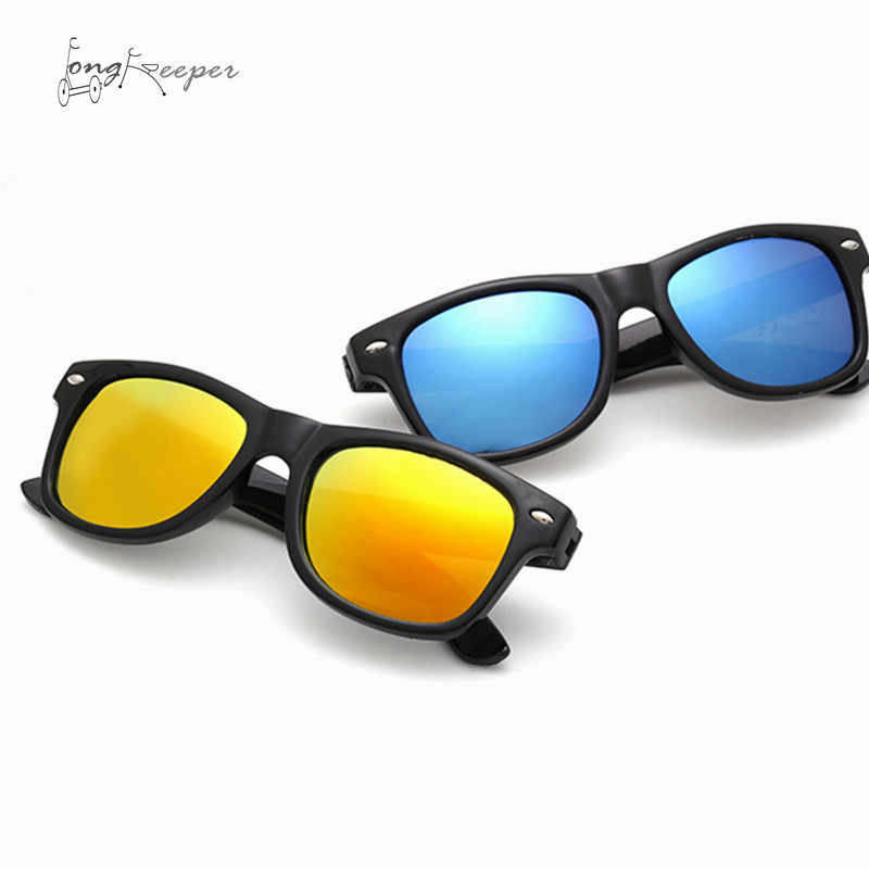 4a986fb0f02d LongKeeper Hot Children Sunglasses Kids Boy Girl Sports Sun Glasses PC  Frame Cute Cool Biking Cycling