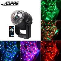 AOPRE Lazer Led Magic Disco Ball Sahne Aydınlatma Etkisi DJ Parti Araba Ve Ev Için ışık Lampen Taşınabilir Oto Ses Etkinleştirin L-16D
