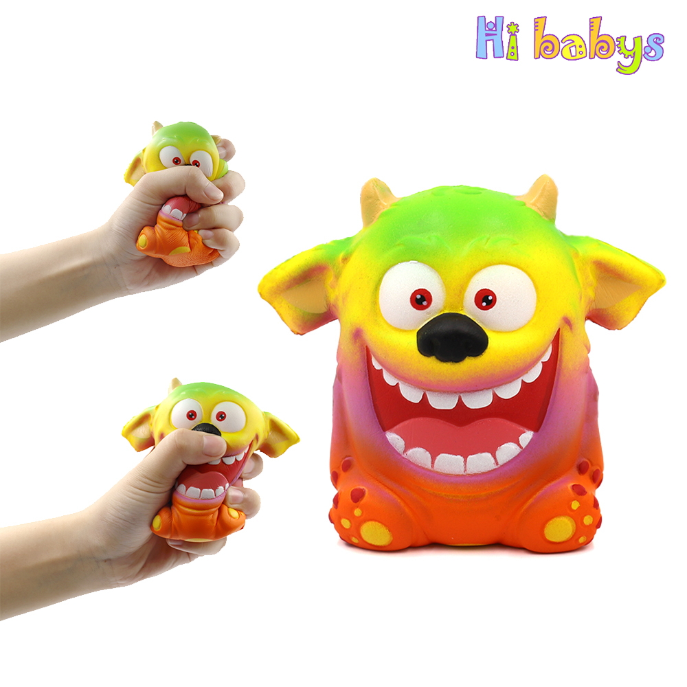 Jumbo Squishy Big Ears Bear Squeeze Toy Antistress Squishes Toy Smooshy Mushy Giant Squishy Relieve Stress Kids Adult Gift Toys & Hobbies
