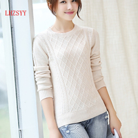 LHZSYY 2016 NEW Winter Cashmere Sweater O neck Women Knitting Wool Sweater Women Pullovers Tops Pullover