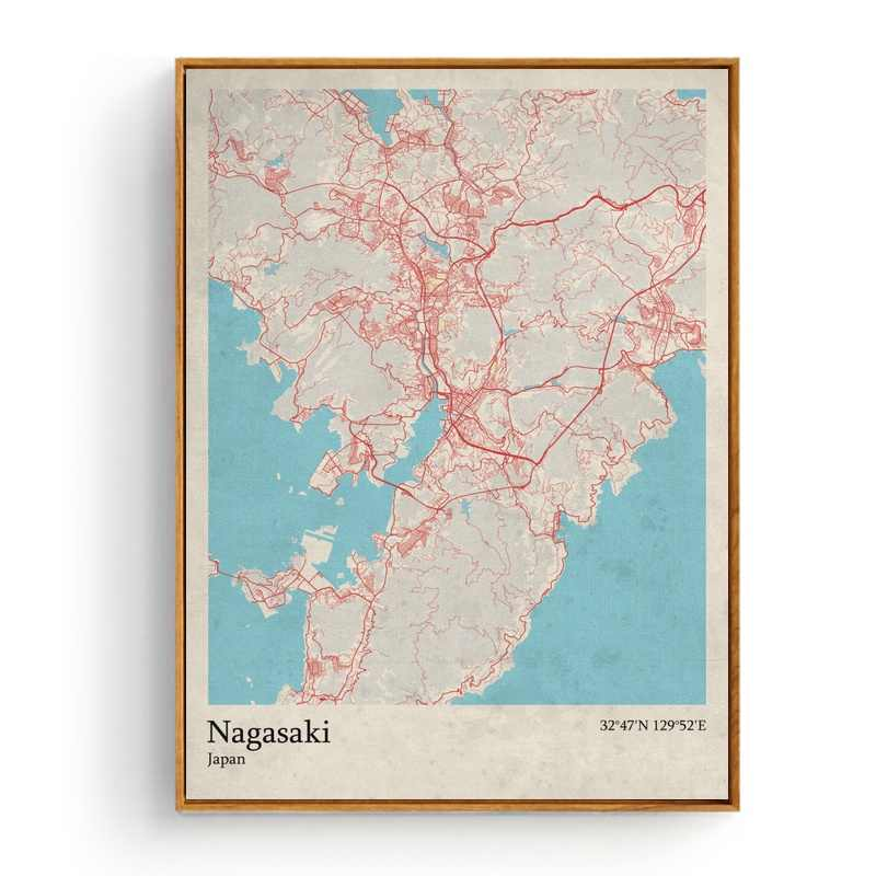 Map Of France Nantes.Detail Feedback Questions About City Map Nagasaki Japan Nagoya Japan