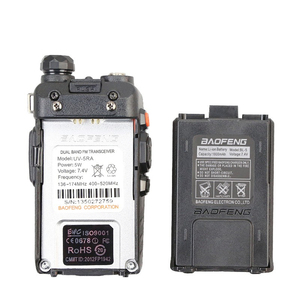 Image 3 - Baofeng UV 5RA Walkie Talkie 5 วัตต์ Dual Band แบบใช้มือถือ UHF/VHF Communicator HF transceiver Security