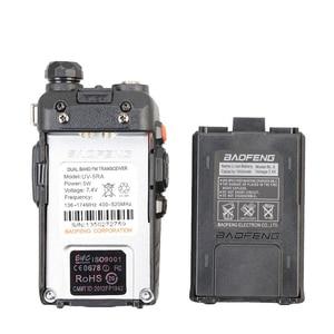 Image 3 - Baofeng UV 5RA Walkie Talkie 5W High Power Dual Band Handheld Two Way Ham Radio UHF/VHF Communicator HF Transceiver Security Use
