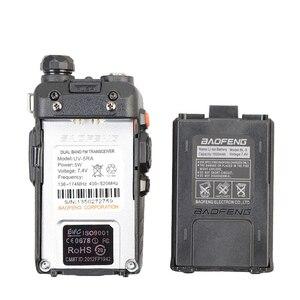 Image 3 - Baofeng UV 5RA Walkie Talkie 5W High Power Dual Band Handheld Zwei Weg Ham Radio UHF/VHF Communicator HF transceiver Sicherheit Verwenden