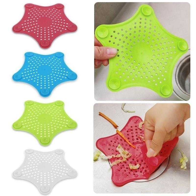 Kitchen Drains Sink Strainers Filter Sewer Drain Hair Colander Bathroom Cleaning Tool Kitchen Sink Accessories Gadgets