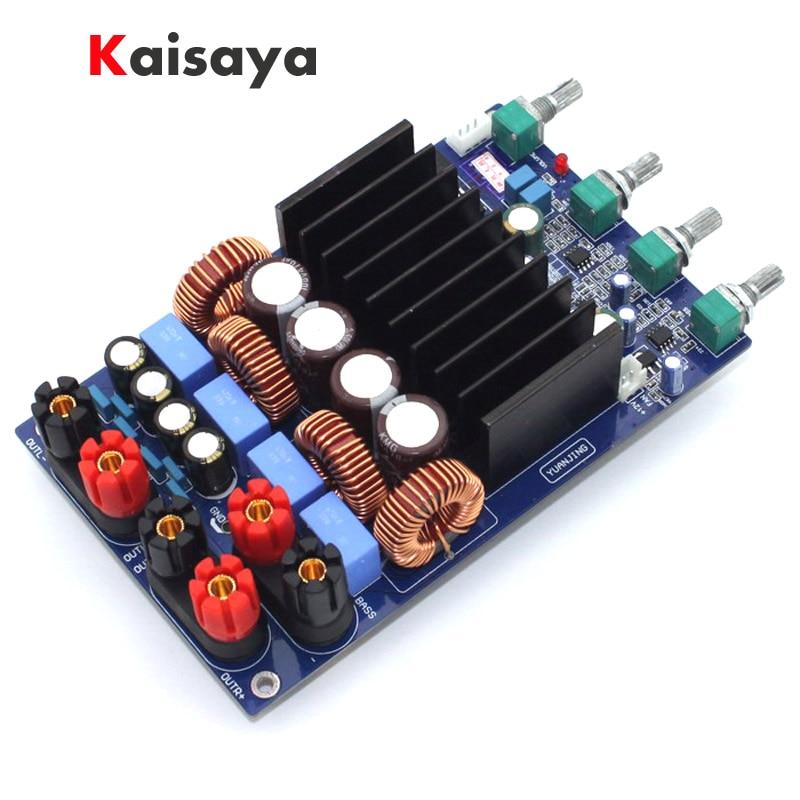 300W+150W+150W TAS5630 2.1 4ohm Class D Digital HIFI audio Amplifier Board assembled 150w 150w hifi audio power amplifier clone marantz ma 9s2 amp ls7b pre finished board
