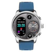 MOCRUX Bluetooth T3 Dual Display Sport Smart Watch For Men Waterproof Pedometers Fitness Bracelet Smartwatch Activity Tracker