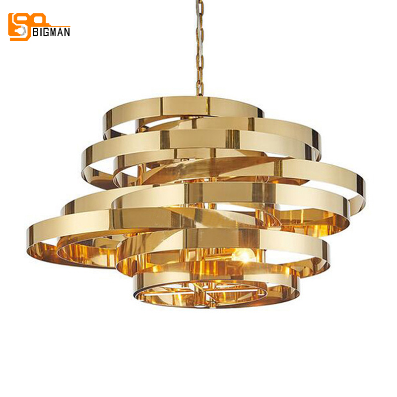 high quality simple chandelier LED light modern chandeliers for living room dinning room hanglamp ,gold lighting