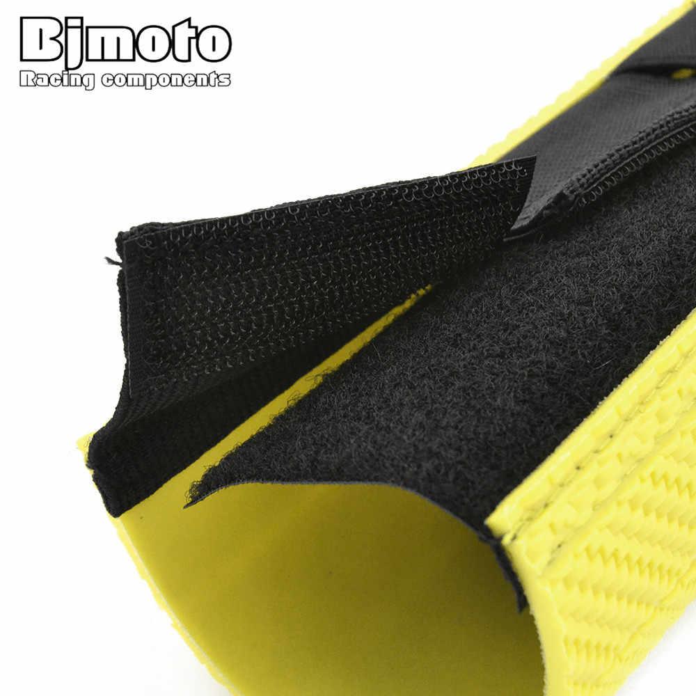 Bjmoto Универсальный 238 мм передняя вилка крышка гетры гаторы ботинок амортизатор пыли протектор для ktm kawasaki yamaha мотокросса