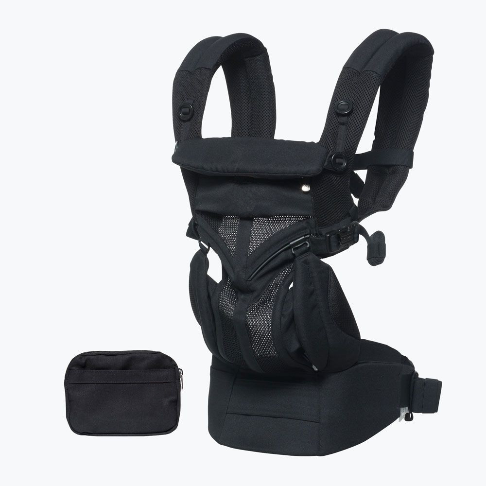 Ergonomic Baby Carrier 360 Omni Organic Cotton Four Position 360 Baby Carrier Breathable 360 Cool Air