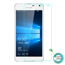 2pcs For Glass Lumia 650 Screen Protector Tempered Glass for Nokia Lumia 650 Glass For Microsoft Lumia 650 Phone Film XnrapiD enkay matte pet screen protector protective film guard for nokia lumia 1520 transparent
