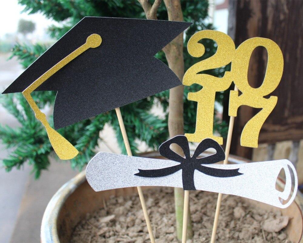 Graduation Party Centerpieces grad cap decorations promotion-shop for promotional grad cap