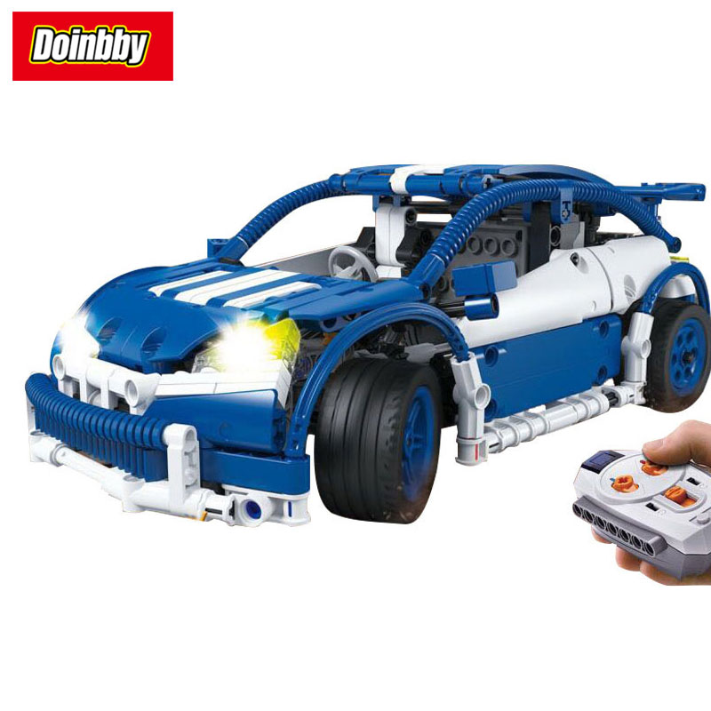 Lepin 20053B Technic The Hatchback Type R Set MOC-6604 640Pcs Remote Control Buliding Blocks Bricks Toys Children Gifts