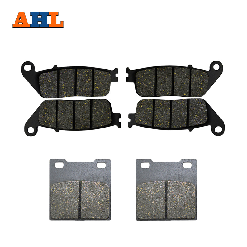 AHL Motorcycle Front & Rear Brake Pads For Suzuki F+R GSX400 (94-96) GSF600 Bandit (95-99) RF 400 RF 600 (93-97) motorcycle front and rear brake pads for honda xl700v transalp non abs 2008 2014 xl600 97 99 xl650 00 07 xrv750 94 03
