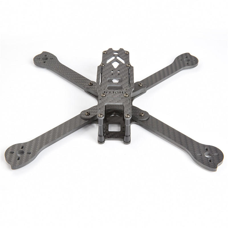 New IFlight XL6 6 Inch 265mm Wheelbse 4mm Arm 3K Carbon Fiber FPV Freestyle Frame Kit for RC Models FPV Racing Drone Spare Parts jmt j510 510mm carbon fiber 4 axis foldable rack frame kit with high tripod for diy helicopter rc airplane aircraft spare parts