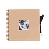 12inch Photo Album Stick On Gifts Memory Record Travel Classical Loose Leaf Guest Book DIY Scrapbook Craft Paper Wedding Retro