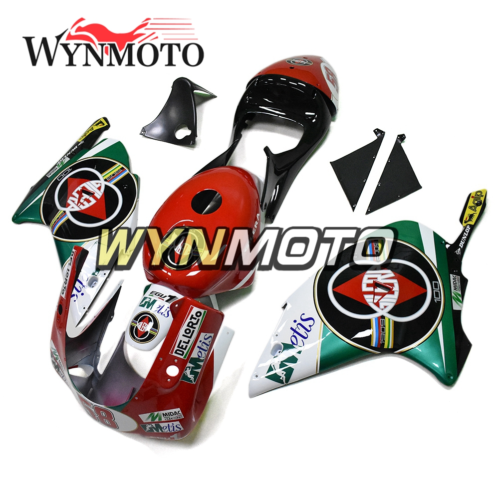 New Complete Fairings For Aprilia RS250 1998 1999 2000 2001 2002 RS 250 ABS Plastic Motorcycle Bodywork Gloss Green Red Carenes